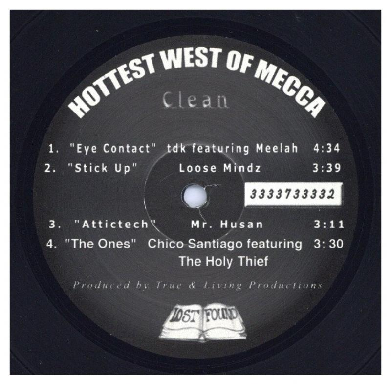 TDK feat Meelah / Loose Mindz/Eye Contact / Stick Up (Hottest West Of Mecca-EP)のLPレコード vinyl LP通販・販売ならサウンドファインダー
