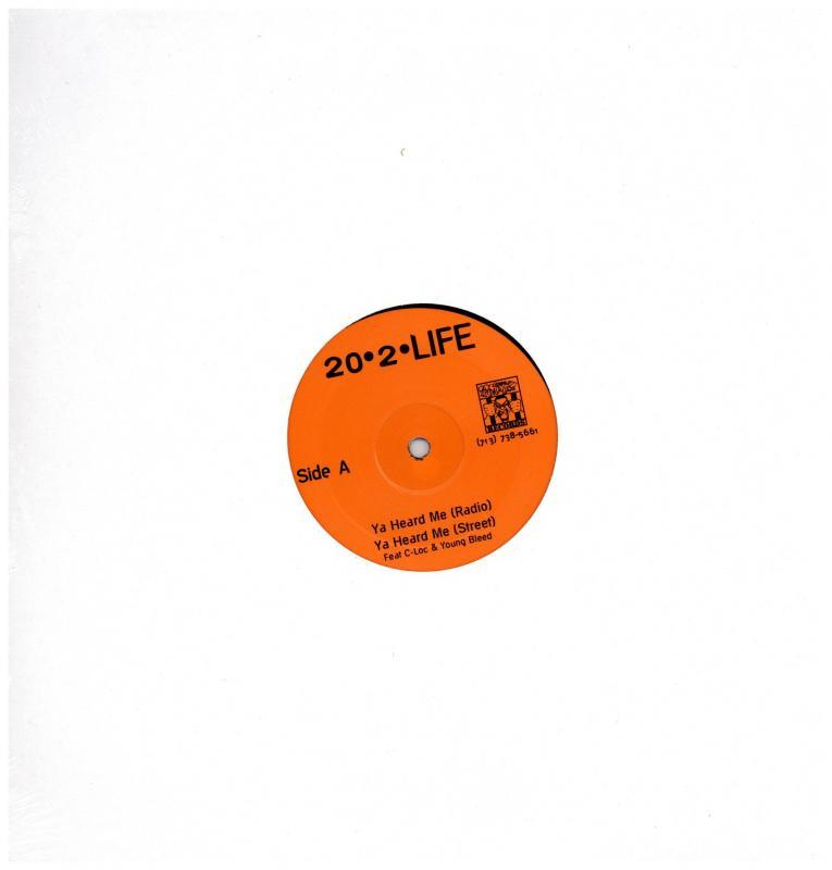 20-2-LIFE ft Young Bleed, C-Loc, Lil Keke/YA HEARD ME / MOMMA / BANG & TINTの12インチレコード vinyl 12inch通販・販売ならサウンドファインダー