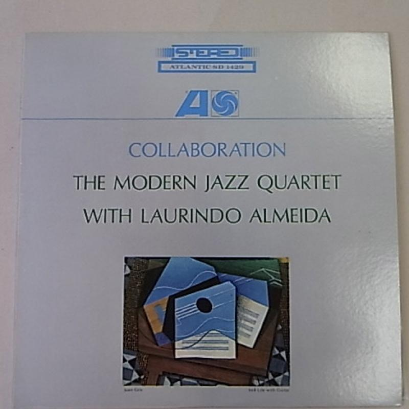 MODERN JAZZ QUARTET WITH LAURINDO ALMEIDA - COLLABORATION - 33T