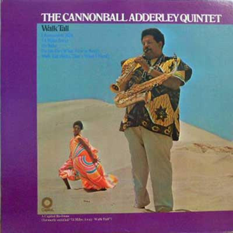 CANNONBALL ADDERLEY QUINTET - Walk Tall - LP