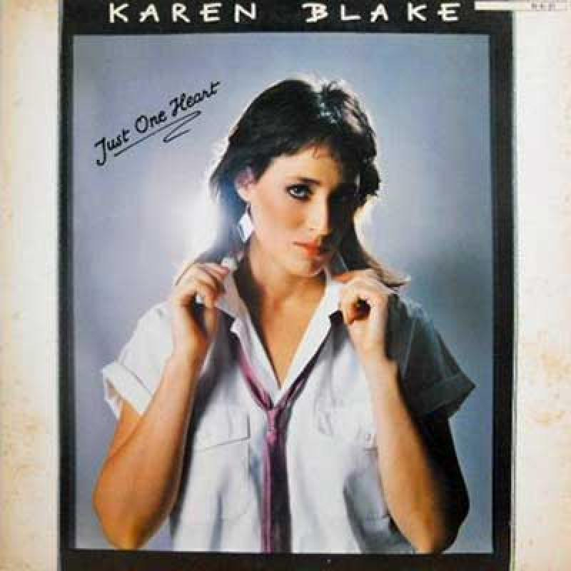 KAREN BLAKE - Just One Heart - LP