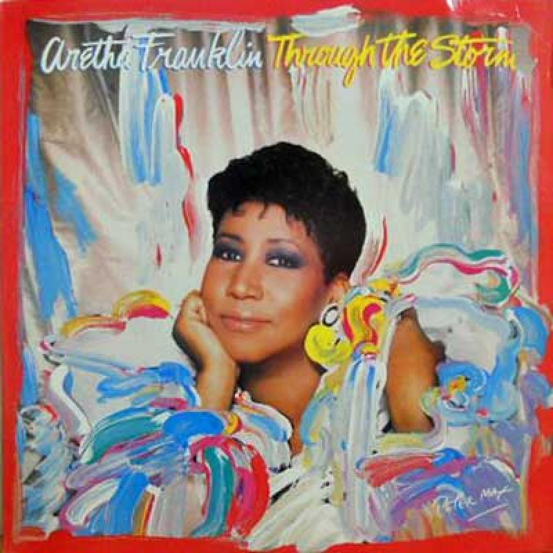ARETHA FRANKLIN - Through The Storm - LP