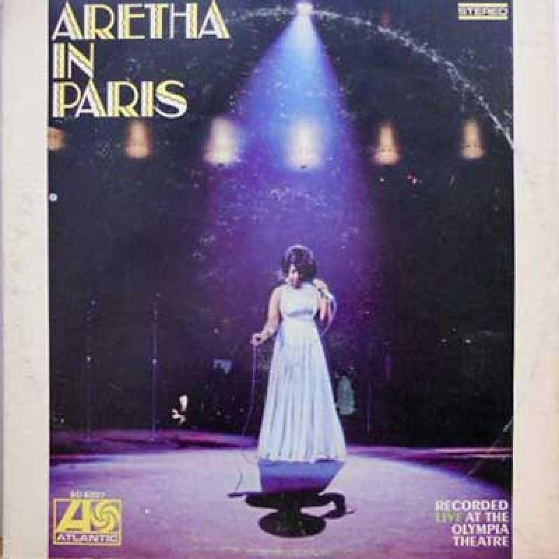ARETHA FRANKLIN - Aretha In Paris - LP