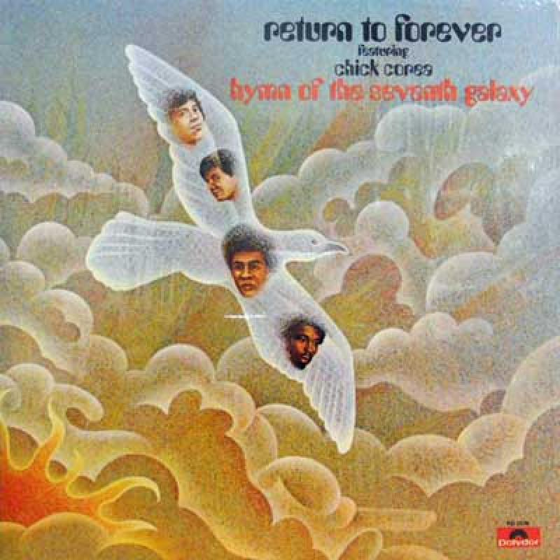 RETURN TO FOREVER FEAT. CHICK COREA - Hymn Of The Seventh Galaxy - 33T