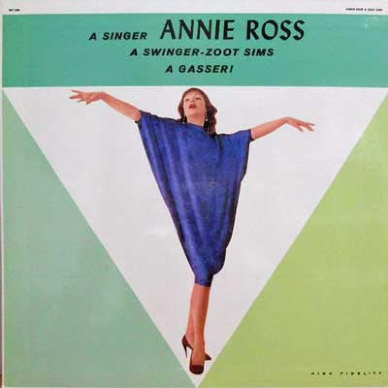 ANNIE ROSS FEATURING ZOOT SMIS & RUSS FREEMAN - A Gasser - LP
