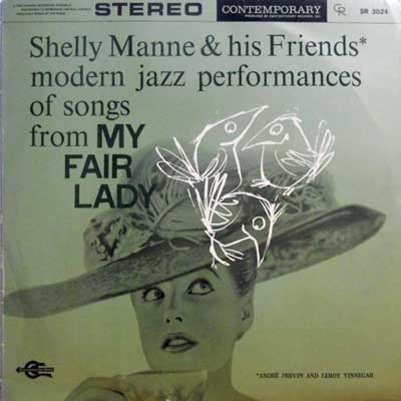 SHELLY MANNE & HIS FRIENDS - My Fair Lady - LP