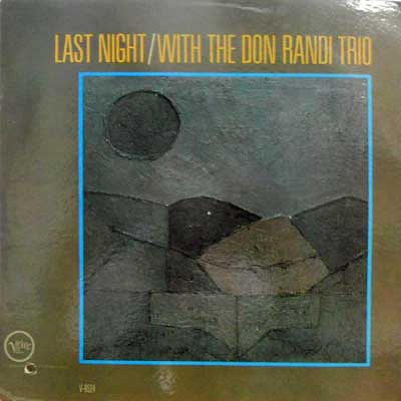 DON RANDI TRIO - Last Night - 33T