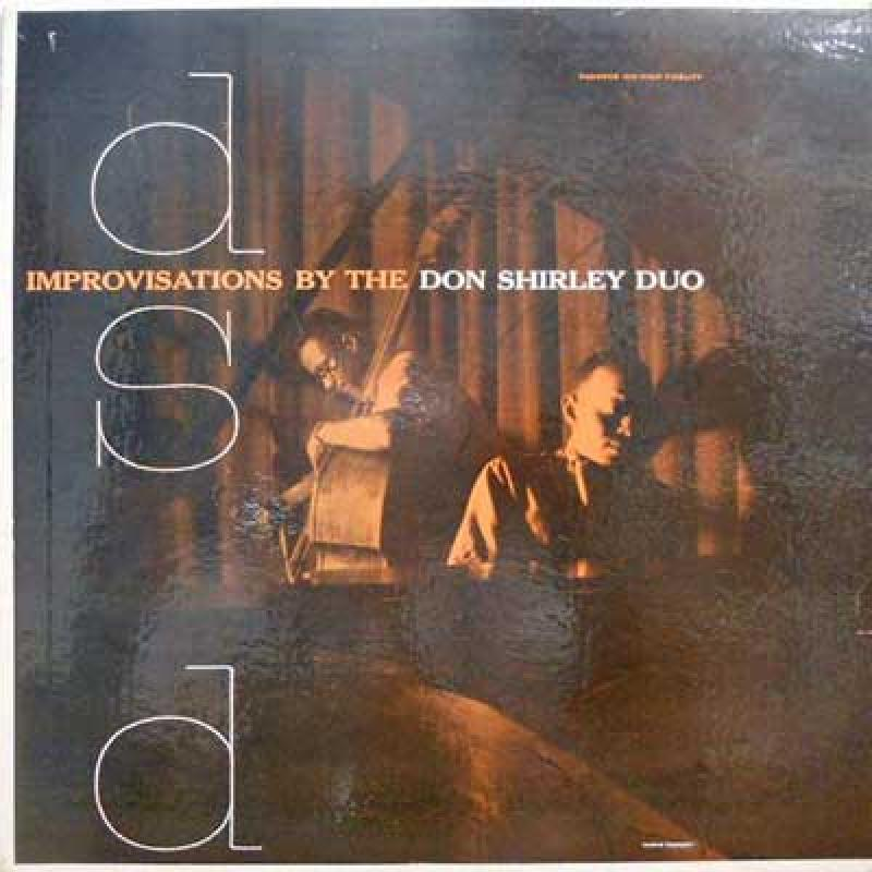 DON SHIRLEY DUO - Improvisations By The Don Shirley DUO - 33T