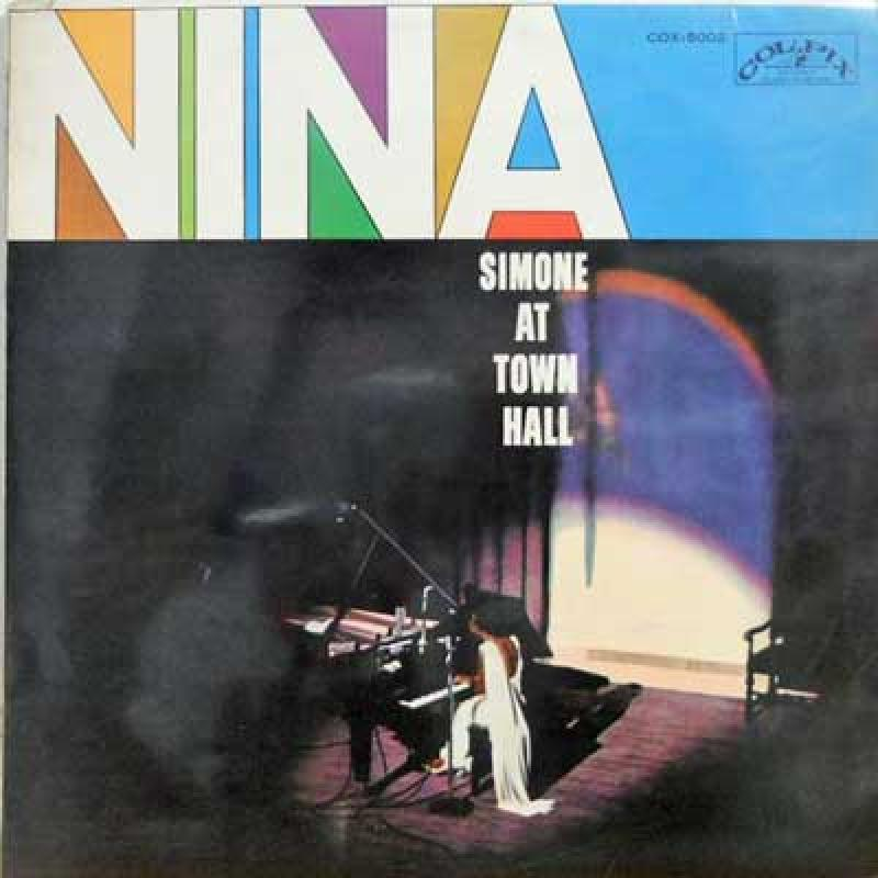 NINA SIMONE - Nina At Town Hall - 33T