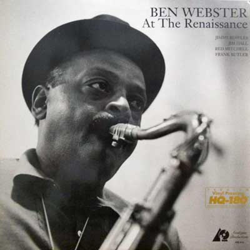 BEN WEBSTER - At The Renaissance - 33T