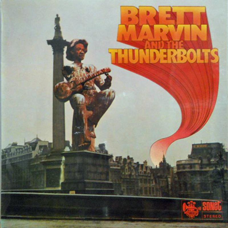 BRETT MARVIN & THE THUNDERBOLTS - Brett Marvin & The Thunderbolts - 33T