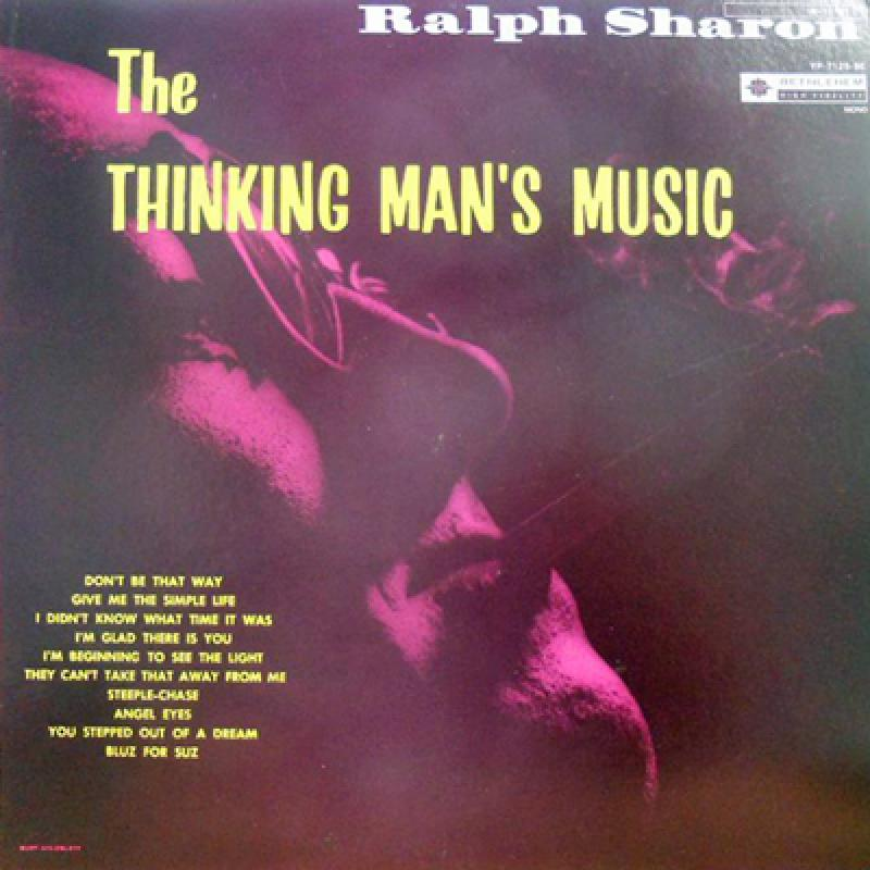 RALPH SHARON TRIO - The Thinking Man's Music - LP