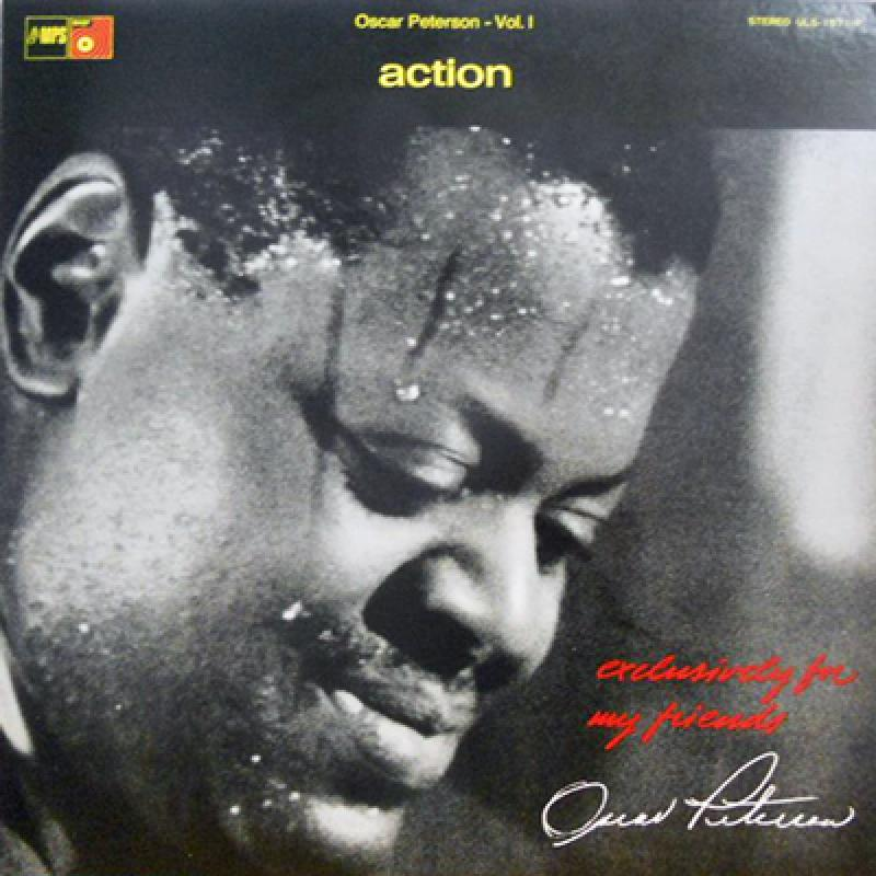 OSCAR PETERSON TRIO - Action - LP