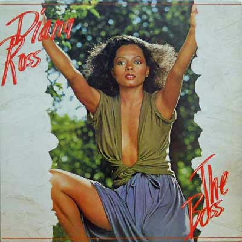 DIANA ROSS - The Boss - 33T