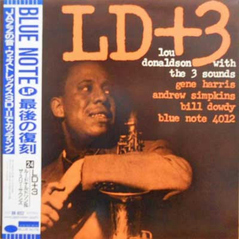 LOU DONALDSON - With The Three Sounds: LD+3 - 33T