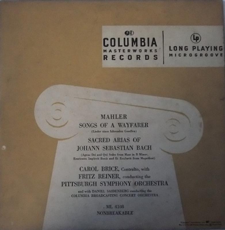 MAHLER/Songs
