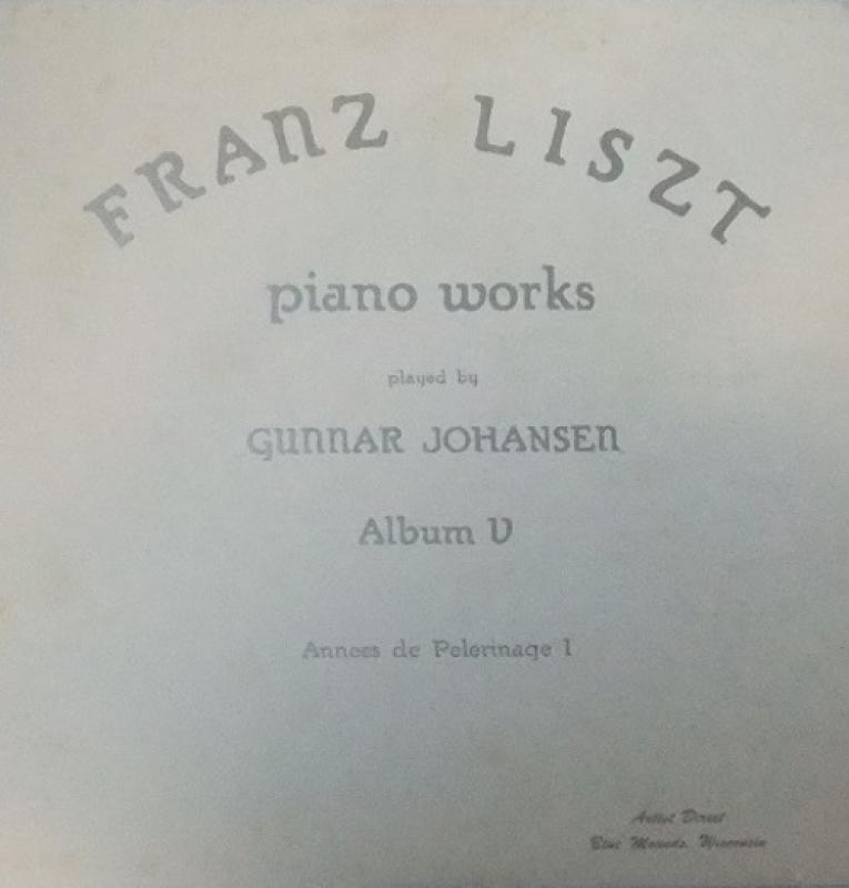 LISZT/Piano