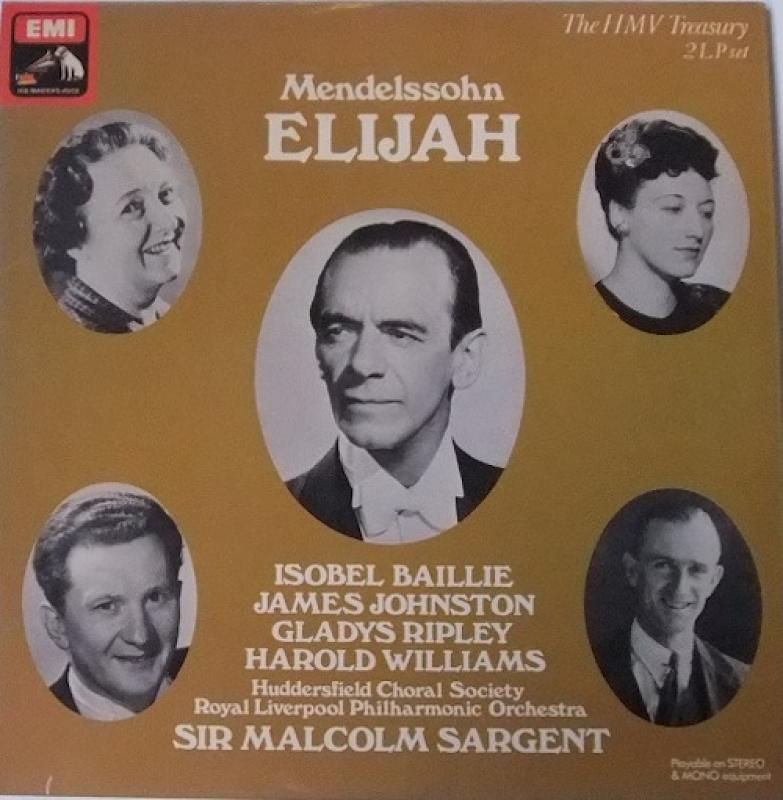 MENDELSSOHN/Elijah
