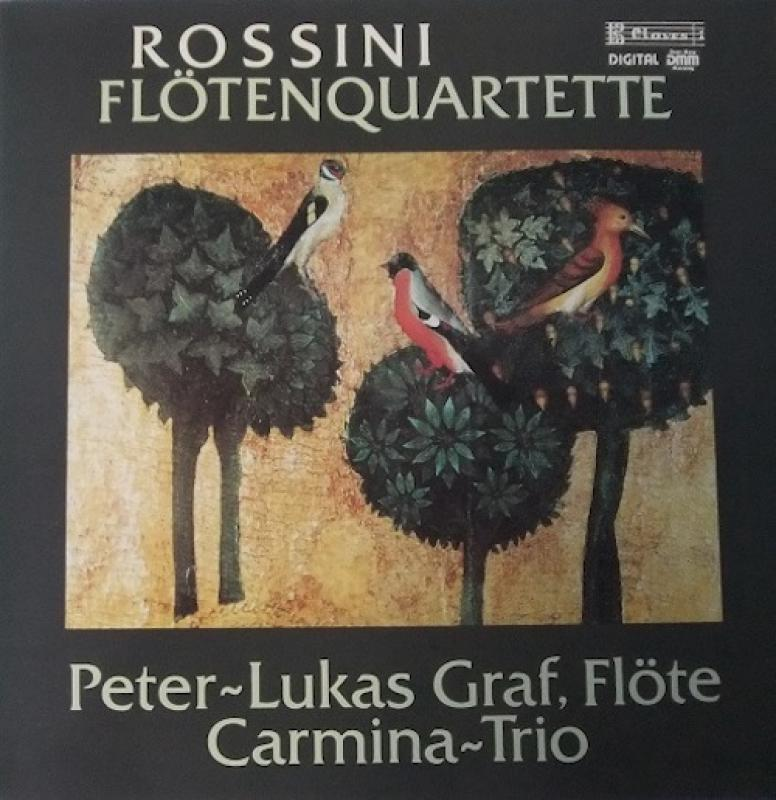 "ROSSINI/FlotenquartetteのLPレコード通販・販売ならサウンドファインダー"""