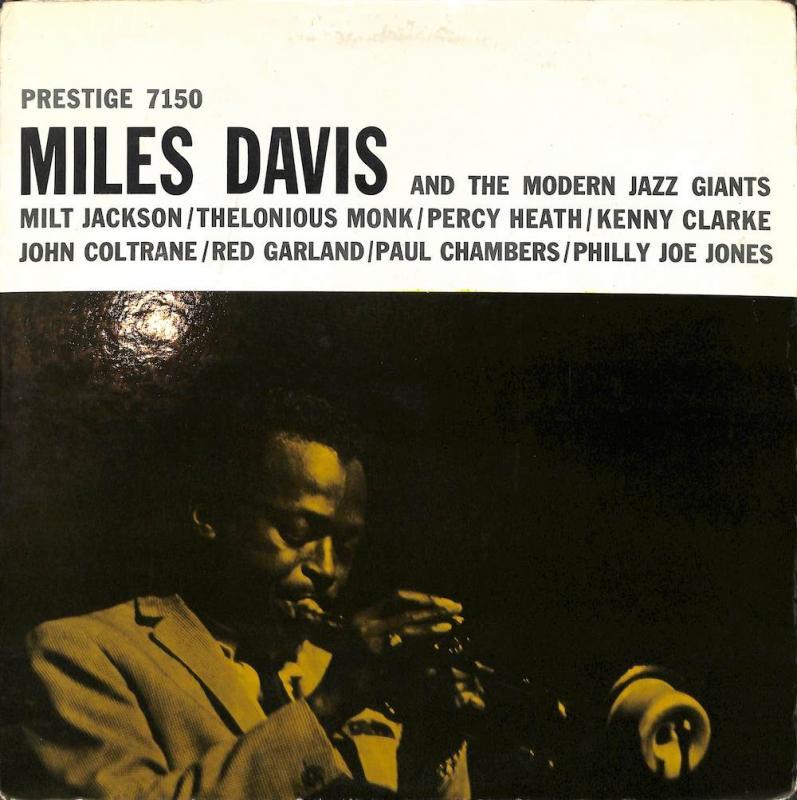 MILES DAVIS/And The Modern Jazz GiantsのLPレコード通販・販売ならサウンドファインダー