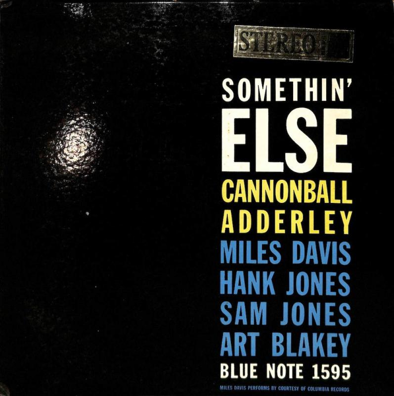 CANNONBALL ADDERLEY, JULIAN / MILES DAVIS/Somethin' ElseのLPレコード通販・販売ならサウンドファインダー