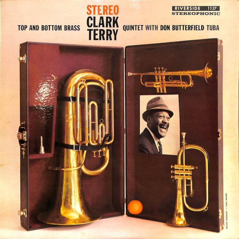 CLARK TERRY QUINTET with Don Butterfield/Top And Bottom BrassのLPレコード通販・販売ならサウンドファインダー