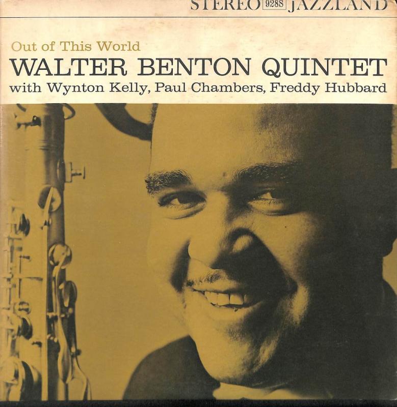 WALTER BENTON QUINTET/Out Of This WorldのLPレコード通販・販売ならサウンドファインダー