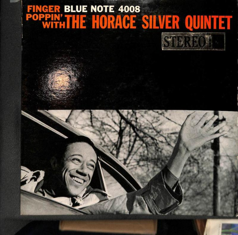 HORACE SILVER QUINTET/Finger Poppin' With TheのLPレコード通販・販売ならサウンドファインダー