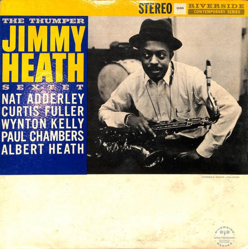 JIMMY HEATH SEXTET/The ThumperのLPレコード通販・販売ならサウンドファインダー