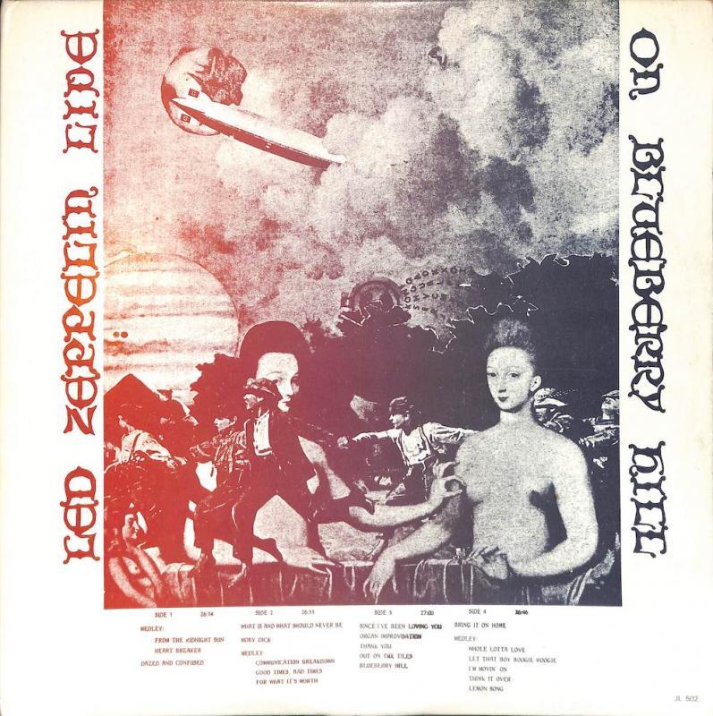 LED ZEPPELIN/Live On Blueberry HillのLPレコード通販・販売ならサウンドファインダー