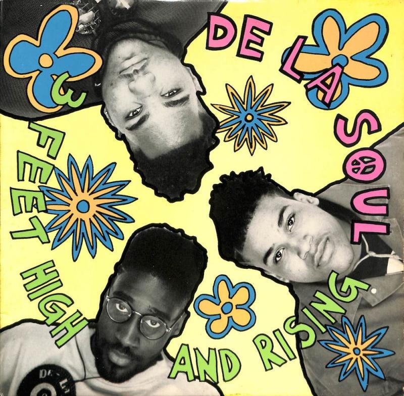 DE LA SOUL/3 Feet High And RisingのLPレコード vinyl LP通販・販売ならサウンドファインダー