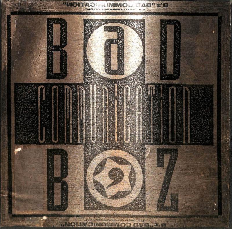 B'Z/Bad Communicationの12インチレコード vinyl 12inch通販・販売ならサウンドファインダー