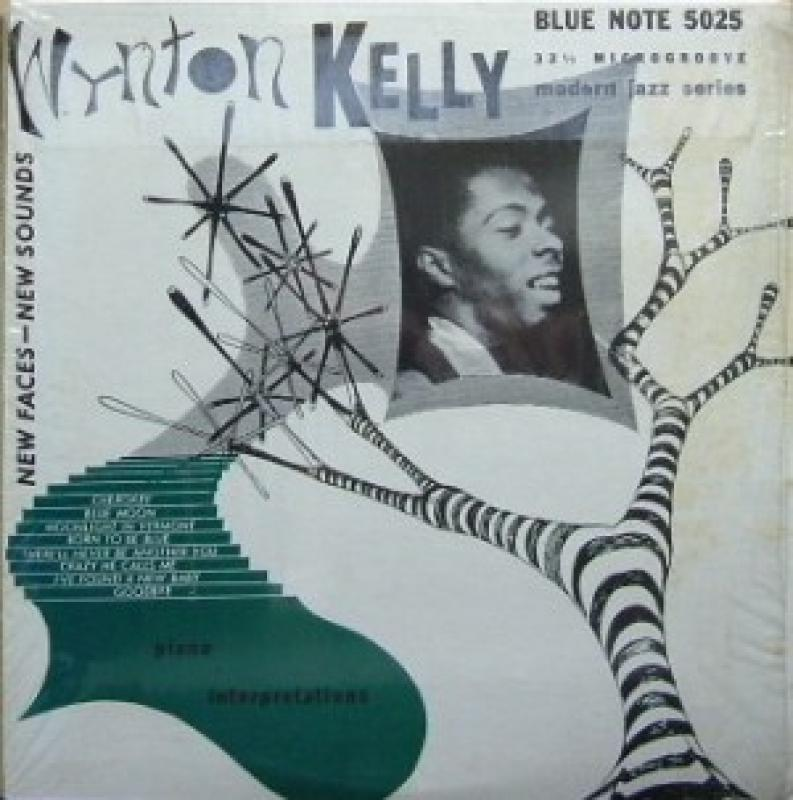 WYNTON KELLY - PIANO INTERPRETATIONS - 25 cm