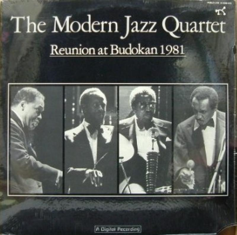 MODERN JAZZ QUARTET - REUNION AT BUDOKAN 1981 - 33T