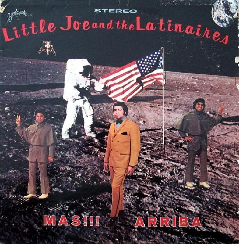 LITTLE JOE AND THE LATINAIRES LITTLE JOE AND THE L - Mas !!! Arriba Mas !!! Arriba - LP