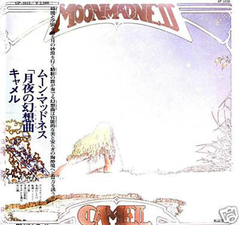 "Camel/MoonmadnessのLPレコード通販・販売ならサウンドファインダー"""