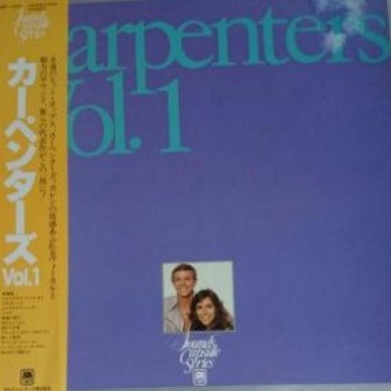 """Carpenters/Vol.1のLPレコード通販・販売ならサウンドファインダー"""""""