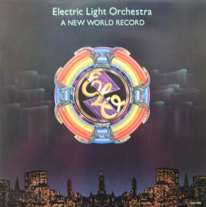ELECTRIC LIGHT ORCHESTRA (E.L.O.) - A NEW WORLD RECORD - LP