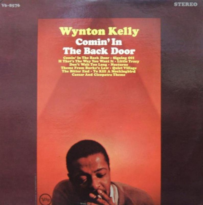 WYNTON KELLY - COMIN' IN THE BACK DOOR - 33T