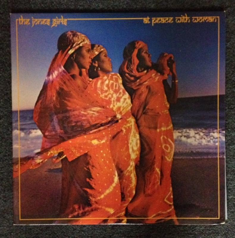 JONES GIRLS - At Peace With Woman - LP
