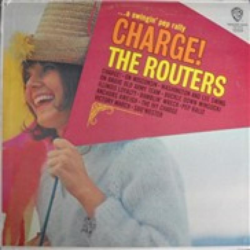 THE ROUTERS ザ・ルーターズ - charge ! - LP