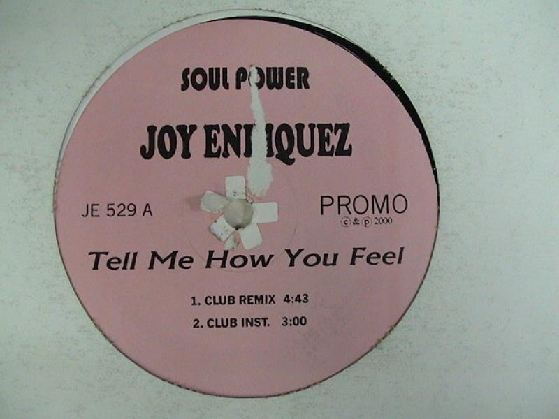 Joy Enriquez/Tell Me How You Feel レコード通販のサウンドファインダー