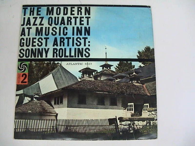 ソニー・ロリンズとモダン・ジャズ四重奏団/ミュージック・インのMJQ