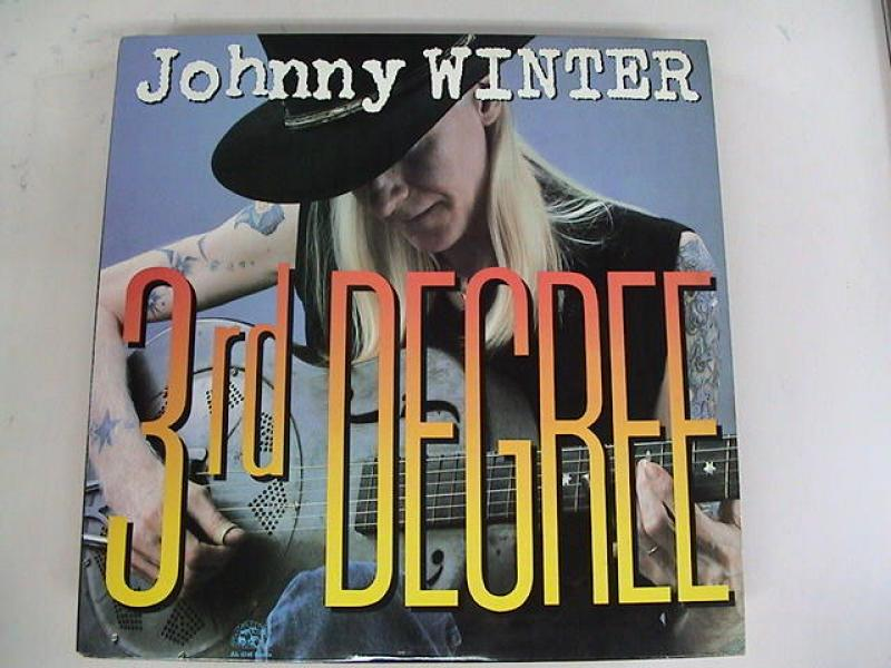 JOHNNY WINTER - 3rd Degree - LP