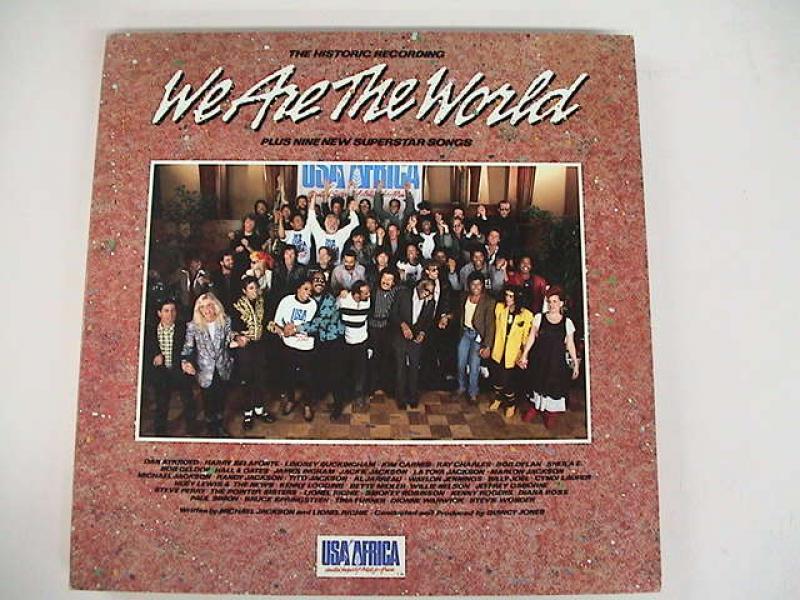 """USAフォー・アフリカ/ウイ・アー・ザ・ワールドのLPレコード通販・販売ならサウンドファインダー"""""""