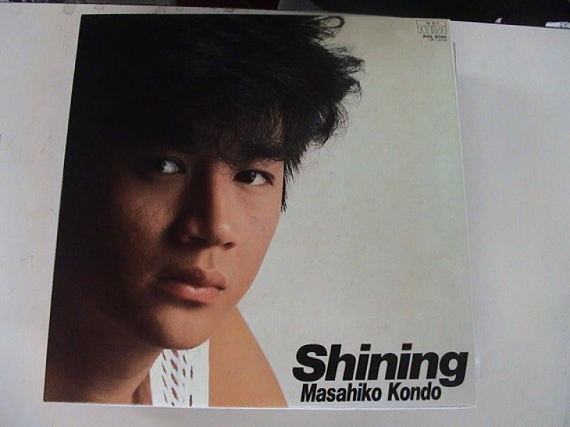 """近藤真彦/ShinningのLPレコード通販・販売ならサウンドファインダー"""""""