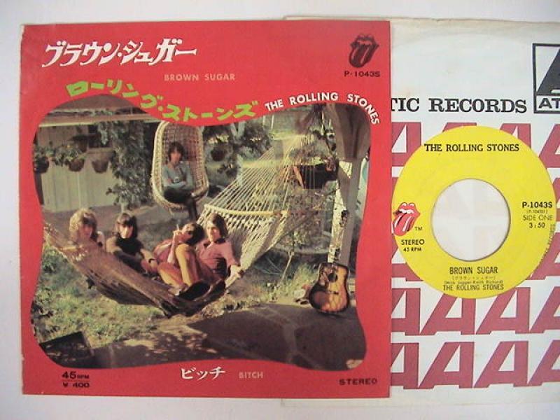 """ローリング・ストーンズ/ブラウン・シュガーの7インチレコード通販・販売ならサウンドファインダー"""""""