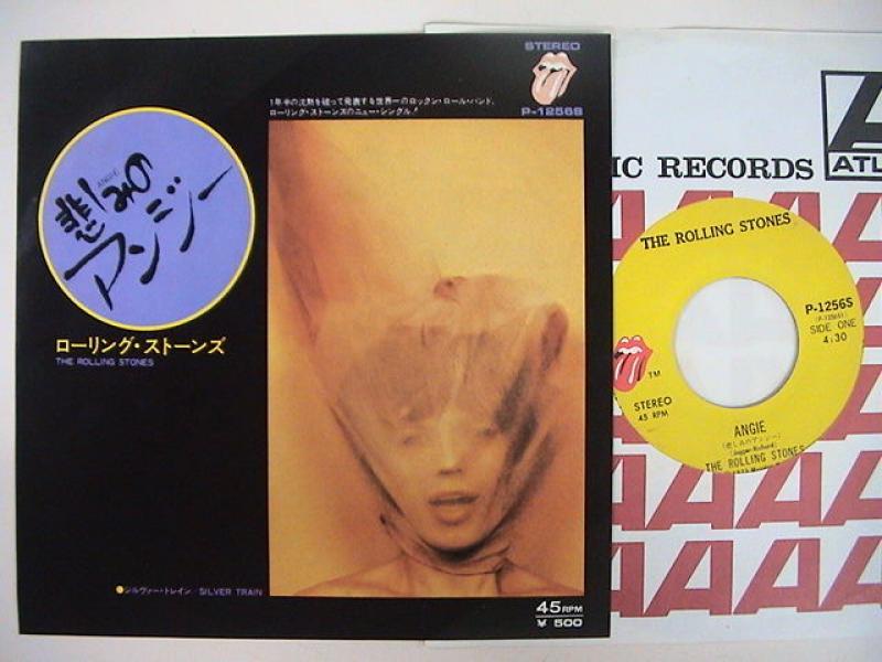 """ローリング・ストーンズ/悲しみのアンジーの7インチレコード通販・販売ならサウンドファインダー"""""""