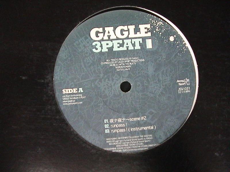 """Gagle/3Peatの12インチレコード通販・販売ならサウンドファインダー"""""""