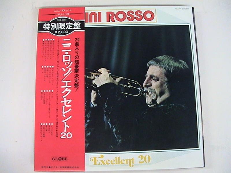 """ニニ・ロッソ/エクセレント20のLPレコード通販・販売ならサウンドファインダー"""""""